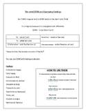 Estar & Feelings Adjectives Notes! Spanish 1