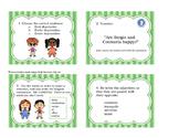 Estar + Feelings Task Cards (Avancemos 1 Unit 2.2 practice)