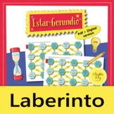 Estar + Gerundio – Maze Practice Activity with Digital Version, Spanish