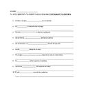 Estar + Prepositions Sentence Translation Practice