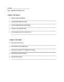 Estar + Prepositions Translation Activity