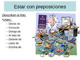 Estar/ Prepostions, Tocar, Parecer, Negation PowerPoint