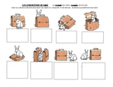 Estar and Preposition practice