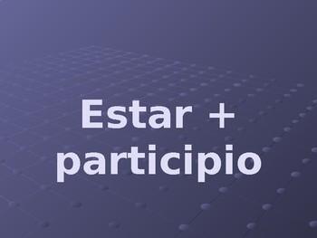 Estar + participle