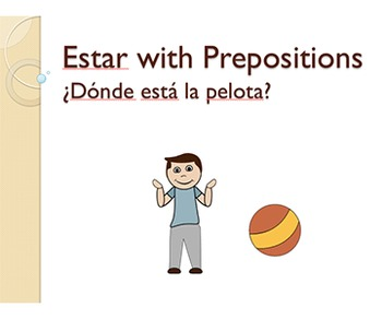Estar with Prepositions