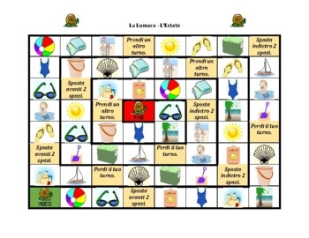 Estate (Summer in Italian) Lumaca Snail game