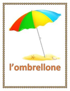 Estate (Summer in Italian) Posters