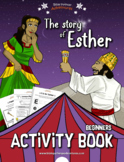 Esther Activity Book for Kids Ages 3-5