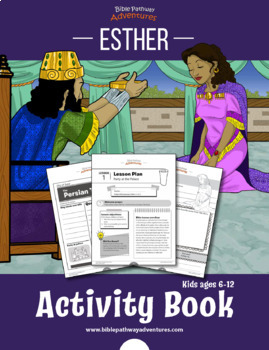 Esther: Bible Activity Book and Lesson Plans
