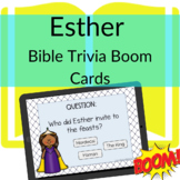 Esther Bible Trivia Online | BOOM CARDS to learn the Bible!