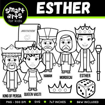 Esther Clip Art