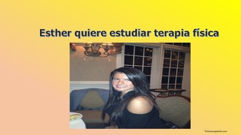 Esther Quiere Estudiar Terapia Física