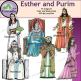 Esther and Purim Clip Art