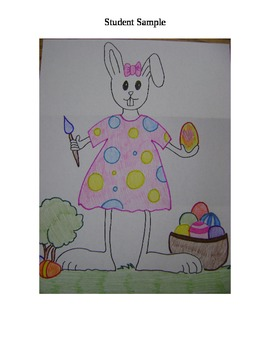 Esther the Easter Bunny - An April / Easter Listening Activity