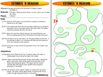 Estimate 'N Measure: Measurement Game