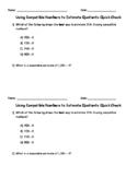 Estimate Quotients(1-Digit Divisors) using Compatible Numbers Quick Check
