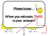 Estimate Sums to the Tens Place