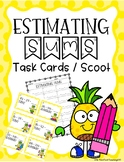 Estimate Sums / Estimating Sums Task Cards and Scoot