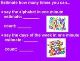 Estimate Time (Flipchart)