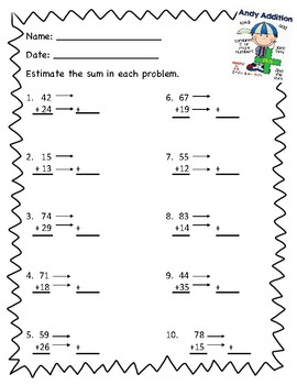 Estimate Two and Three-Digit Addition and Subtraction