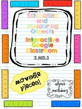 Estimate and Measure ~INTERACTIVE GOOGLE CLASSROOM~ Blende