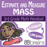 Estimate and Measure Mass pgs. 23 - 25 (CCSS)