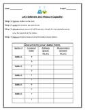 Estimate and Measuring Capacity Lesson