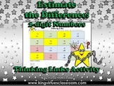 Estimate the Difference: 2-digit Numbers Thinking Links #1 - Subtraction