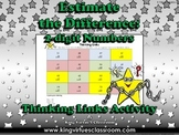 Estimate the Difference: 2-digit Numbers Thinking Links #3 - Subtraction