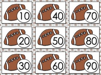 Estimate the Sum: 2-digit Numbers Matching Game Sort - Football - King Virtue
