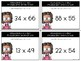 Estimating 2 x 2-Digit Multiplication Products Task Cards
