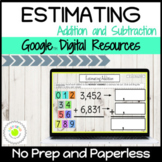 Estimating Addition and Subtraction Digital Activities