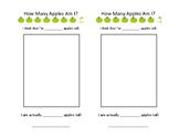 Estimating Apple Worksheet