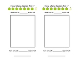 Estimating Apple Worksheet
