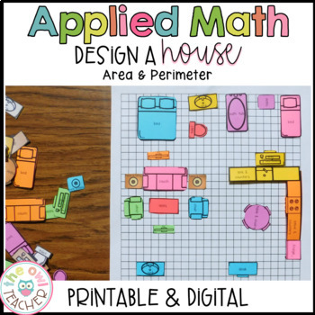 Estimating Area Applied Math Practice