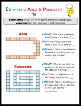 Estimating Area and Perimeter