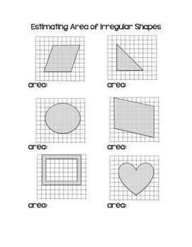 Estimating Area of Irregular Shapes