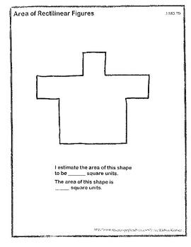 Estimating Area of Rectilinear Figures