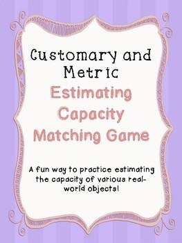 Estimating Capacity Matching Game