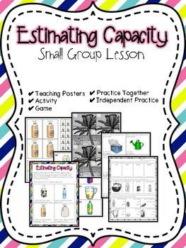 Estimating Capacity Small Group Lesson