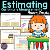 Estimating Customary Measurements Boom Cards
