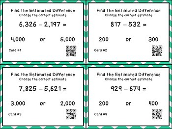 Estimating Differences Activity Set