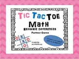 Estimating Differences Tic Tac Toe Partner Game