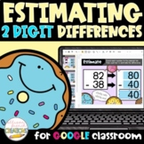 Estimating Differences of 2 Digit Numbers Digital Activity