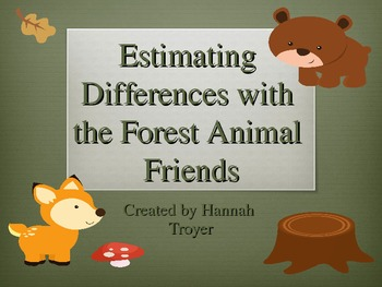 Estimating Differences with the Forest Animal Friends