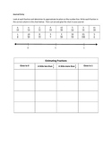 Estimating Fractions & Decimals Journal Entries and Practice
