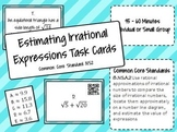 Estimating Irrational Expressions Task Cards with QR Codes