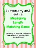 Estimating Length Matching Game - TEKS 4.8a