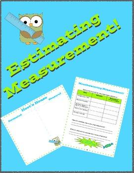 Estimating Measurement Activities!