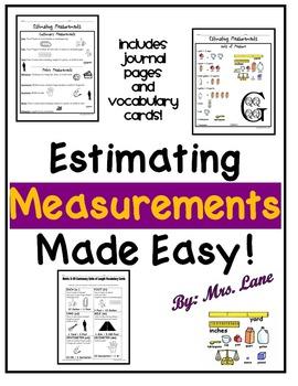 Estimating Measurements Made Easy!